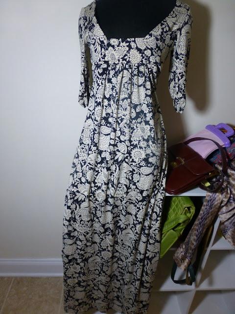 Lupis maxi dress