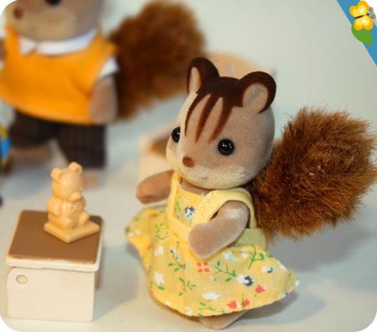 La famille écureuil roux - Sylvanian Families