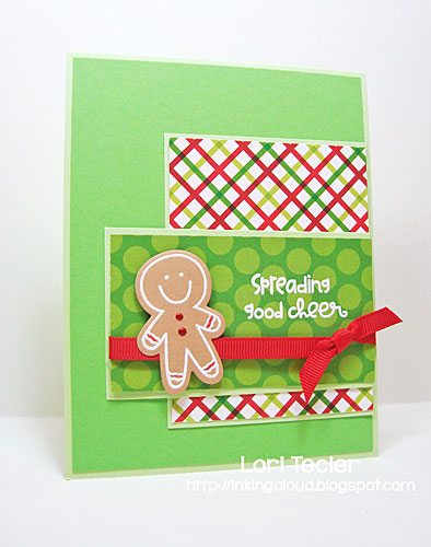 Spreading Good Cheer card-designed by Lori Tecler/Inking Aloud-stamps and dies from Paper Smooches