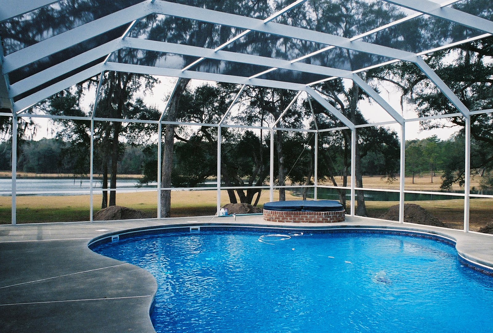 Pool enclosures usa perry florida pool enclosures for Pool enclosures houston