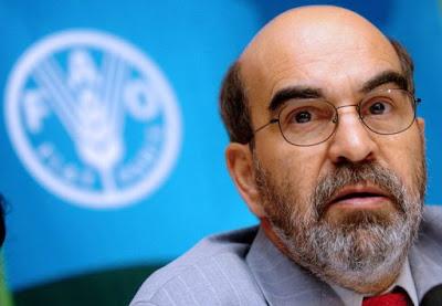 O brasileiro José Graziano, o primeiro representante da América do Sul escolhido para liderar FAO