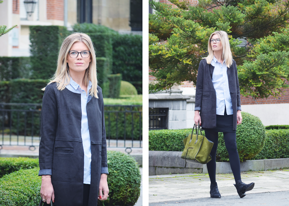 Outfit of the day, Chanel, Bellerose, Charlise, La Redoute, Céline, Acne Studios, Falke, oootd, style, fashion, blogger