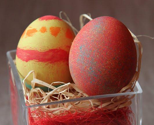 Décoration d'oeufs de Pâques (à faire avec les enfants)
