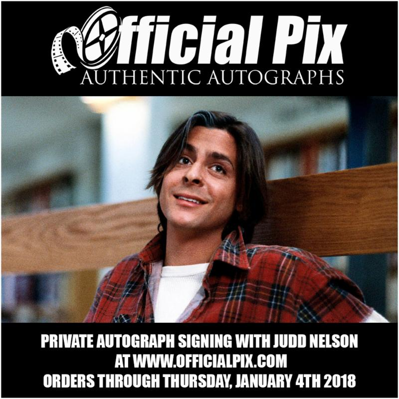 Official Pix Judd Nelson Private Signing!
