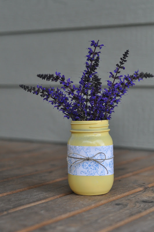 Easy mason jar centerpiece little birdie secrets