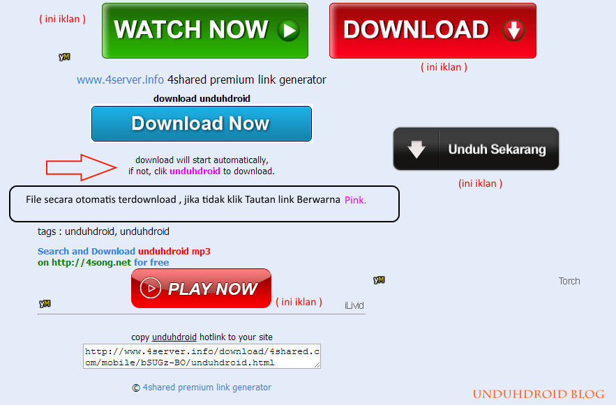 Cara Download 4Shared Tanpa Login dan Full Speed