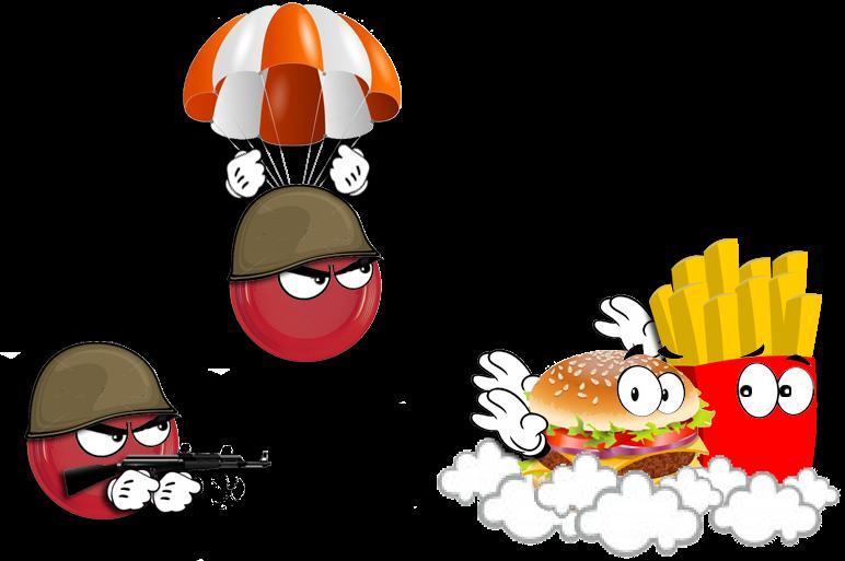 piatti rossi... e passa la fame!
