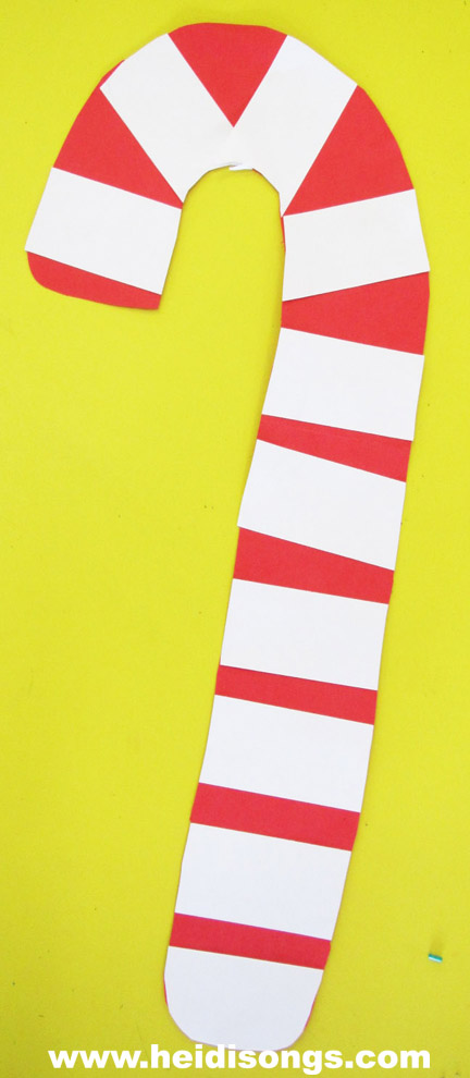 a candy cane project and printable book a science center and