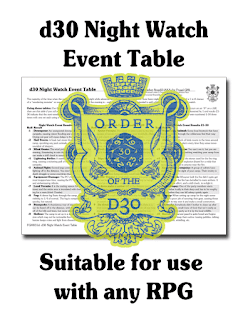 FGM031d: d30 Night Watch Event Table