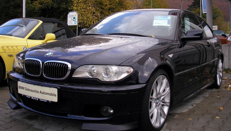 Automotive Database BMW 3 Series E46