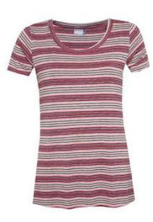 Camiseta Memo Evasê Lines Listra