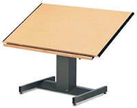 electric drafting table