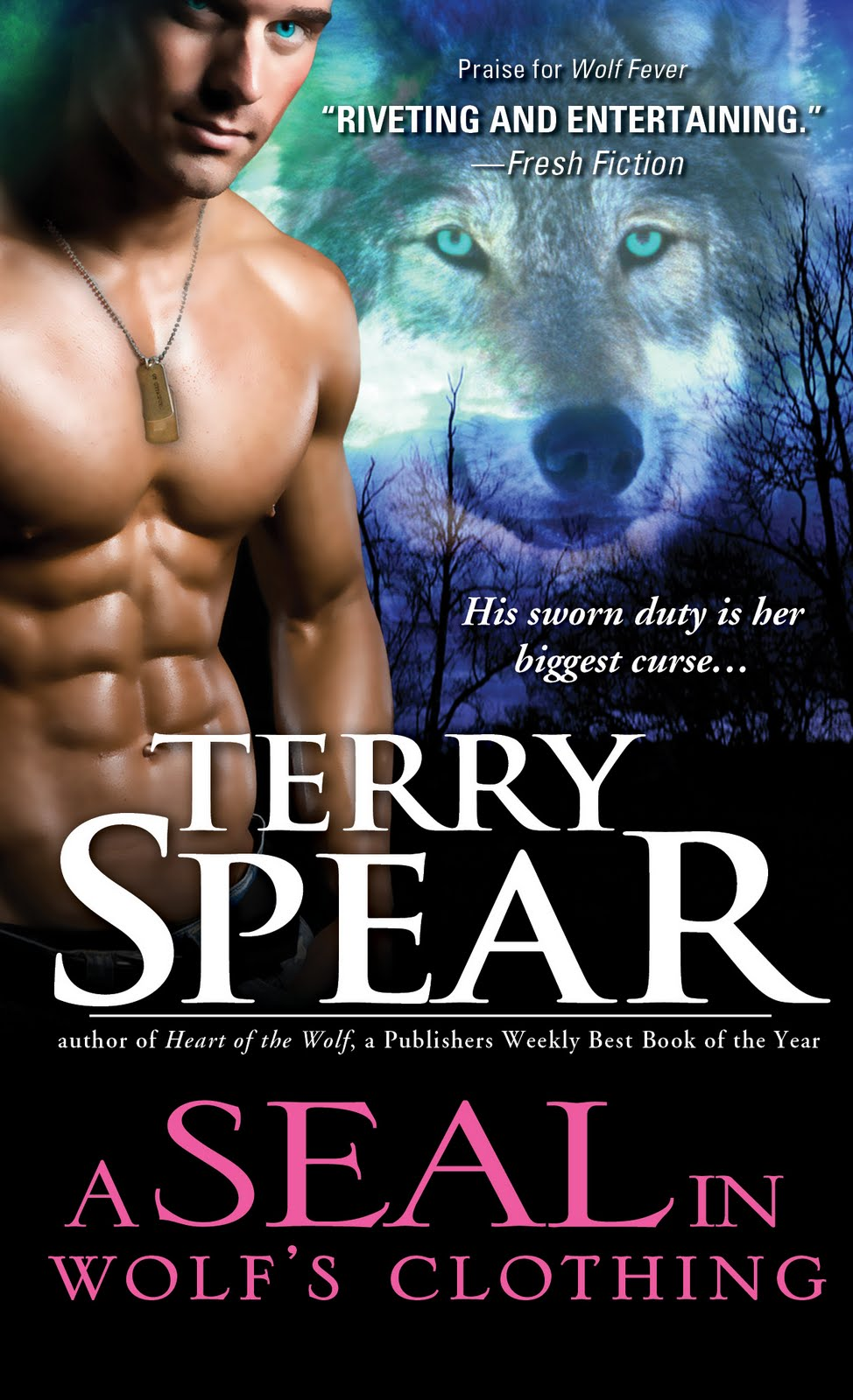 Sourcebooks Blog Tour Character Interview+ Giveaway: Finn Emerson and Terry Spear, Author of A SEAL In Wolf's Clothing