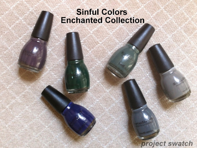 Sinful Colors Enchanted Collection