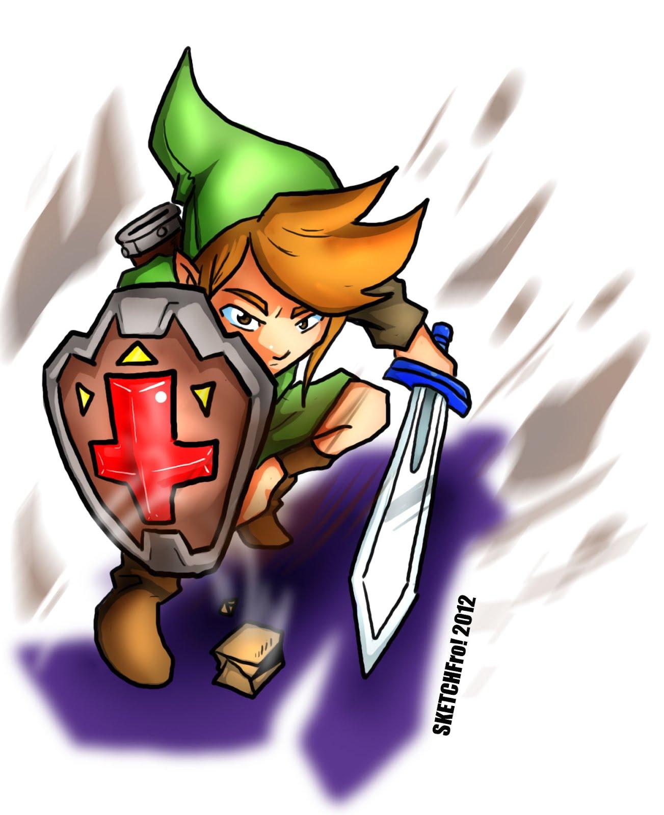 Link Zelda 1
