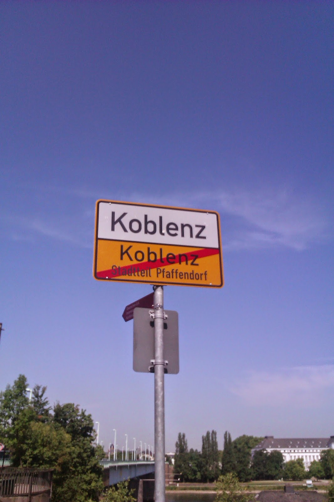 entering KO-Horchheim