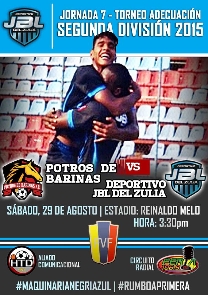 J7 victoria de Potros de Barinas (1-0)