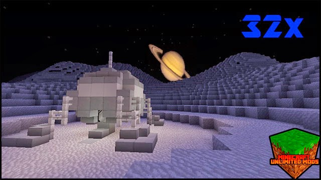 A New World resource pack spacial