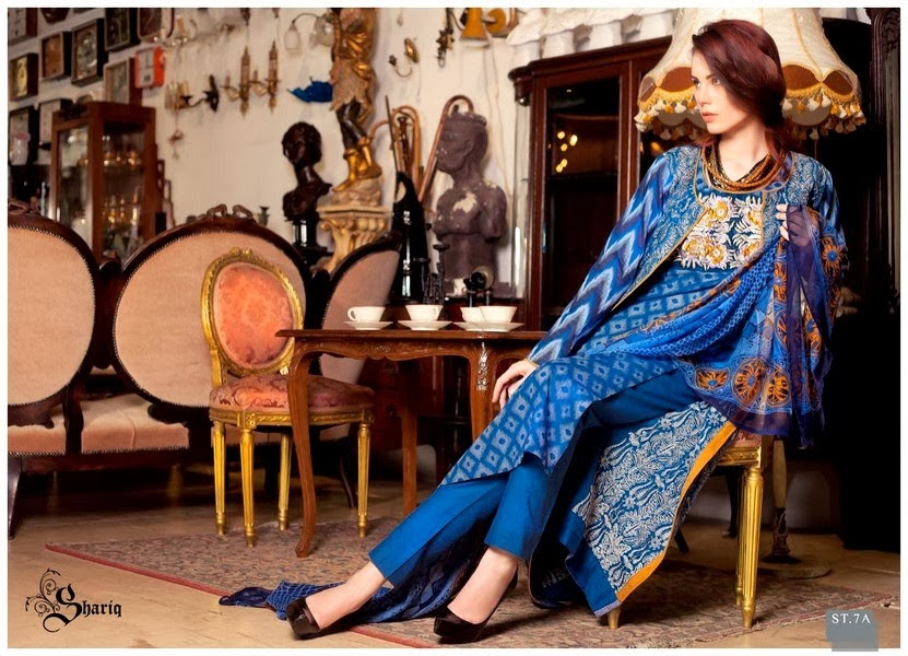 Embroidered Lawn Suits by Subhata