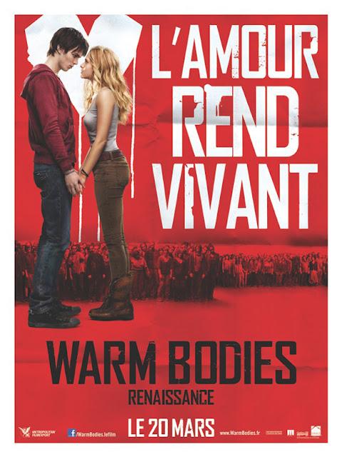 50 places pour le film Warm Bodies