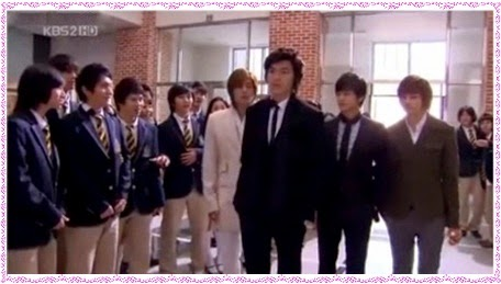 F4 Boys over Flowers Gun Jun Pyo  Yun Ji Hu So Lee Jeong Song Woo-Bin