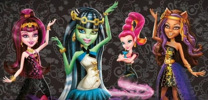 La película es parte de la promoción de Monster High 2013 ,Tus