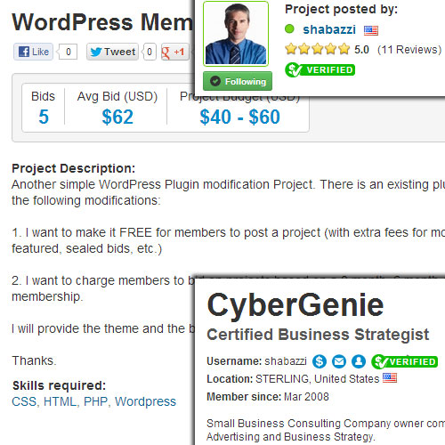 WordPress Membership Plugin Modification