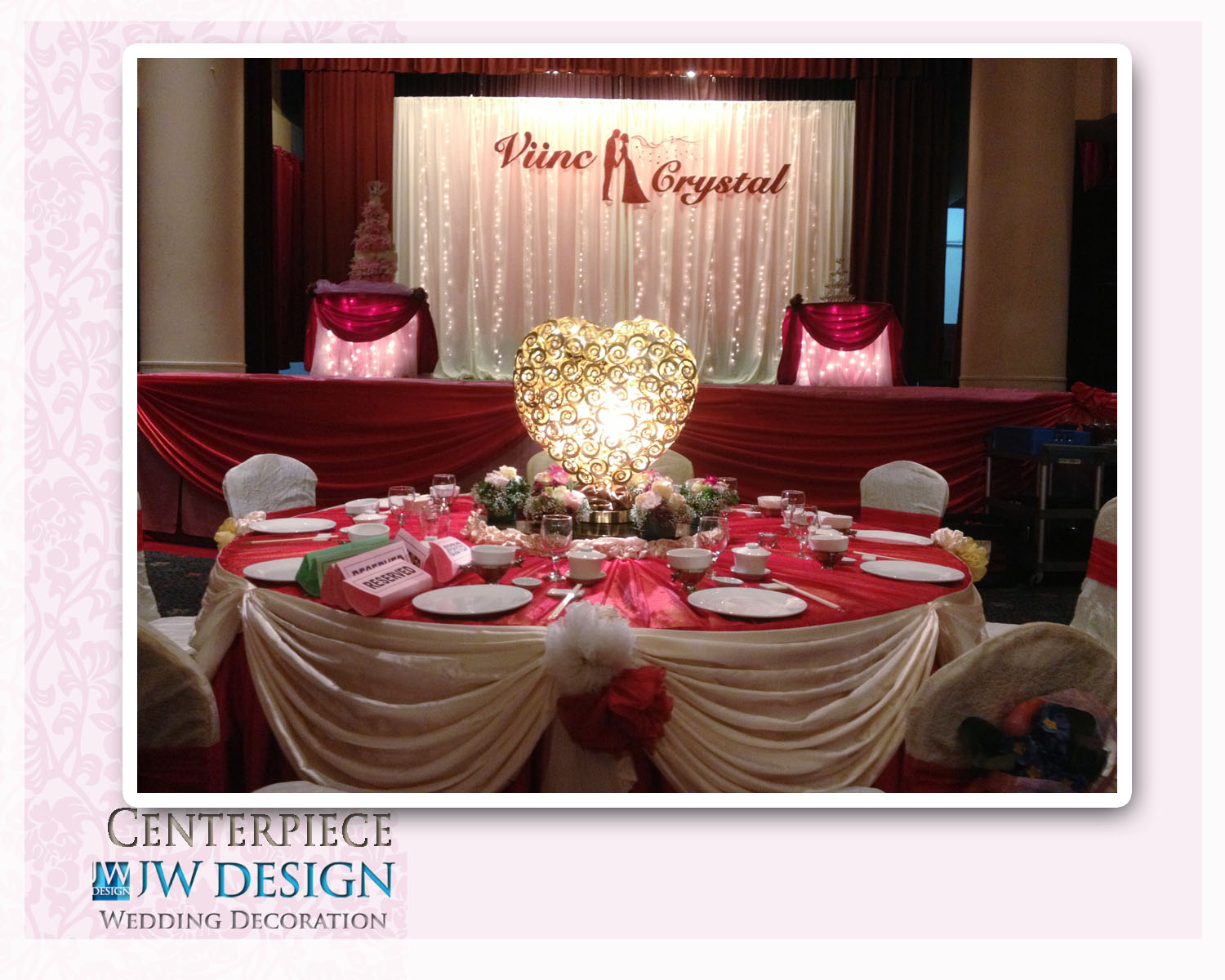 Jw design wedding decoration viincs crystal wedding klang posted by jw design wedding decoration at 820 pm junglespirit Gallery