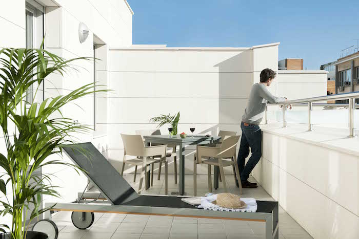 terraza apartamento Eric Vökel