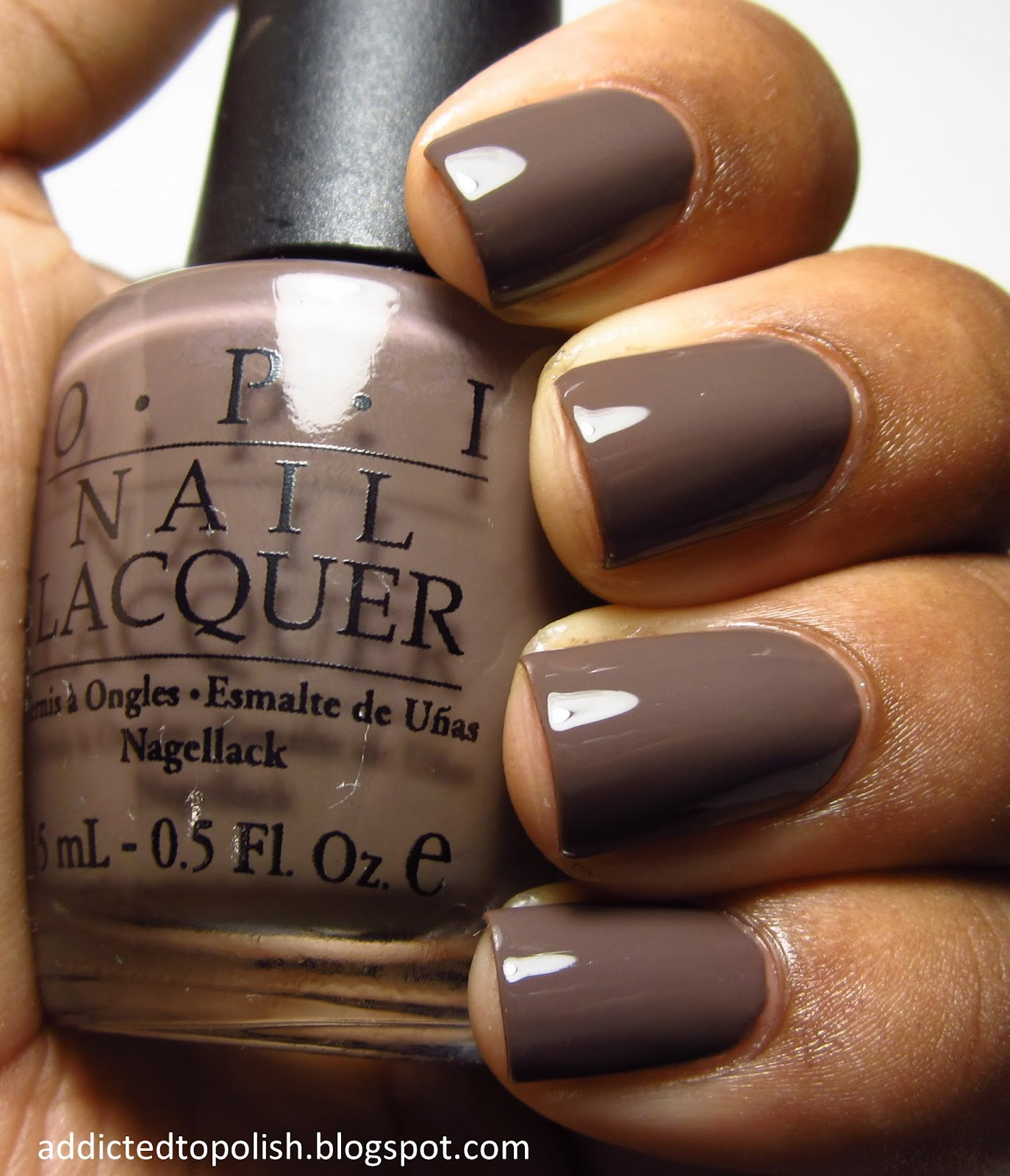 Winter Nail Polish Colors: Addicted To Polish: OPI You Don't Know Jacques