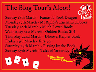 Robert J. Harris - UK BLOG TOUR