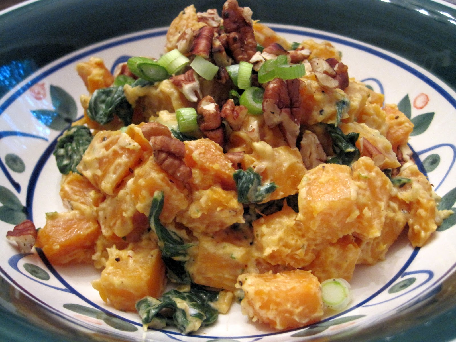 Rachel vs. Ramen: Sweet Potato and Goat Cheese Hash with ...