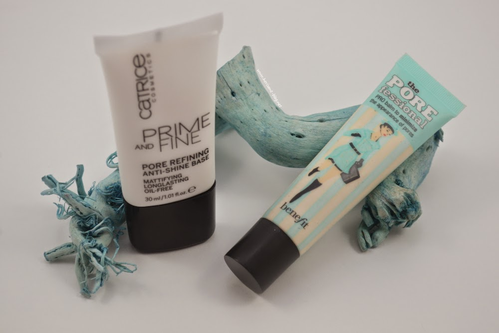Catrice Prime and Fine Pore Refining Anti Shine Base vs. Benefit thePOREfessional