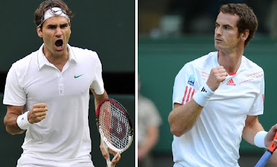 Federer vs Murray Wimbledon 2012