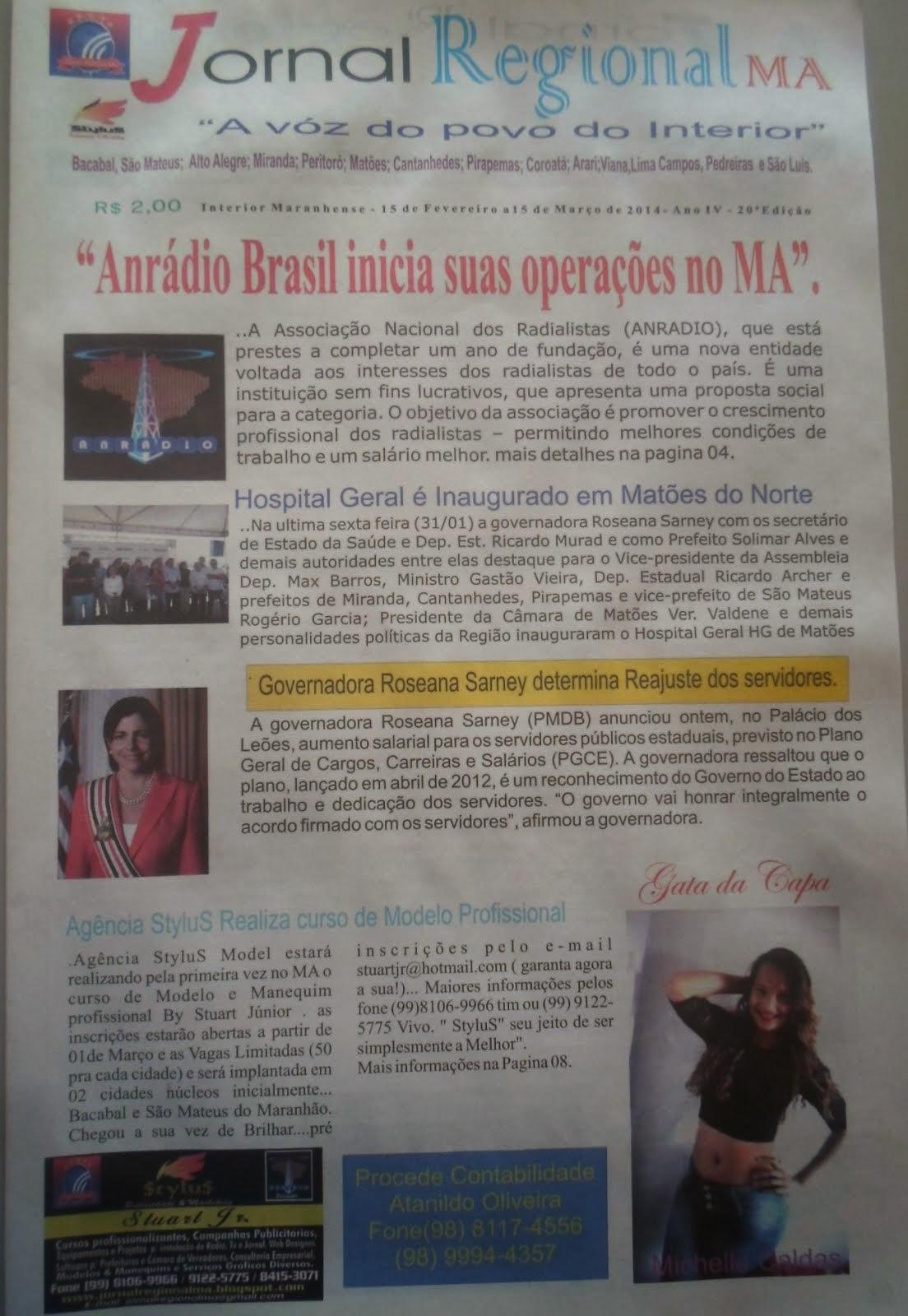Jornal Regional  Ano IV Ed. 020