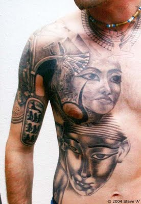 Egyptian tattoos history for Facts about tattoos