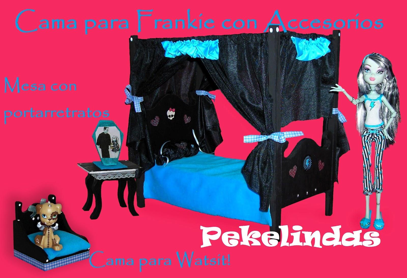 Casitas y muebles para mu ecas casitas para mascotas - Camas monster high ...