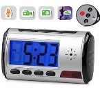 Spy Cam Digital Clock Motion Detection Rekam 12 Jam