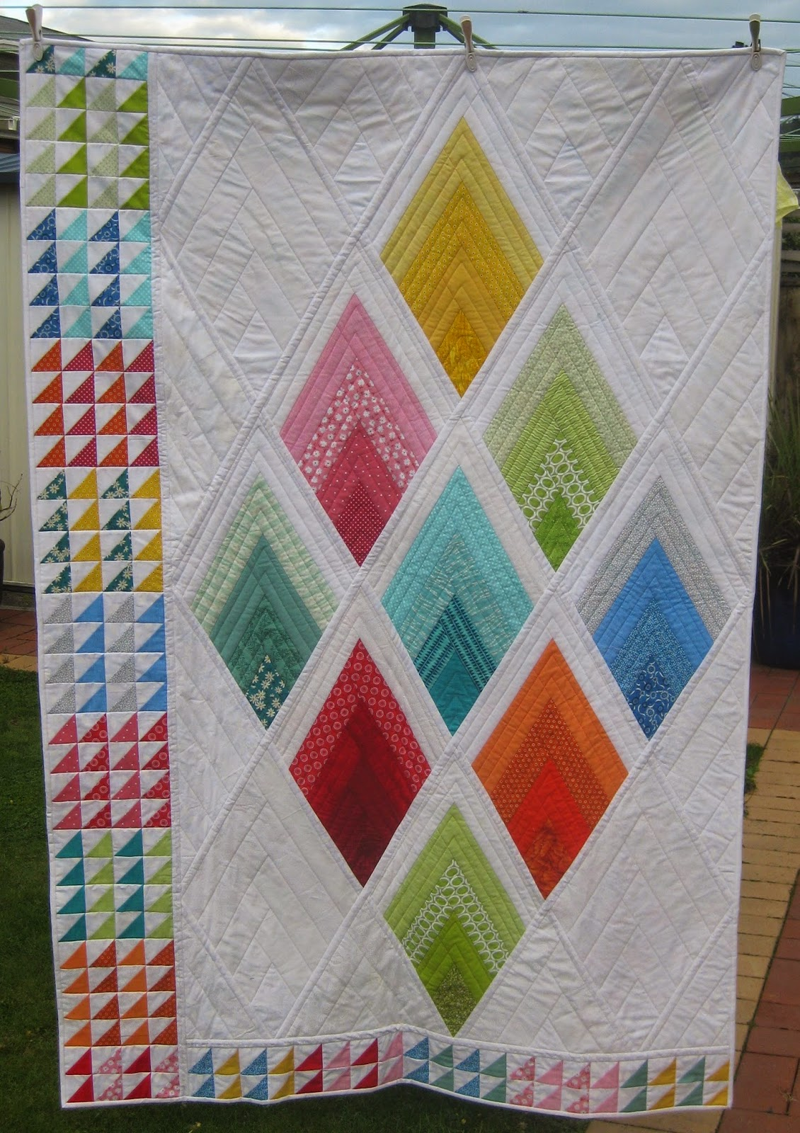 DON'T WAIT TO CREATE: Quilt as you Go : quilt as you go log cabin - Adamdwight.com
