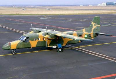 Pesawat Tentera Udara Nigeria Terhempas