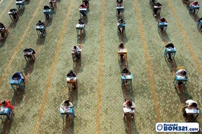Ujian Peperiksaan Di China