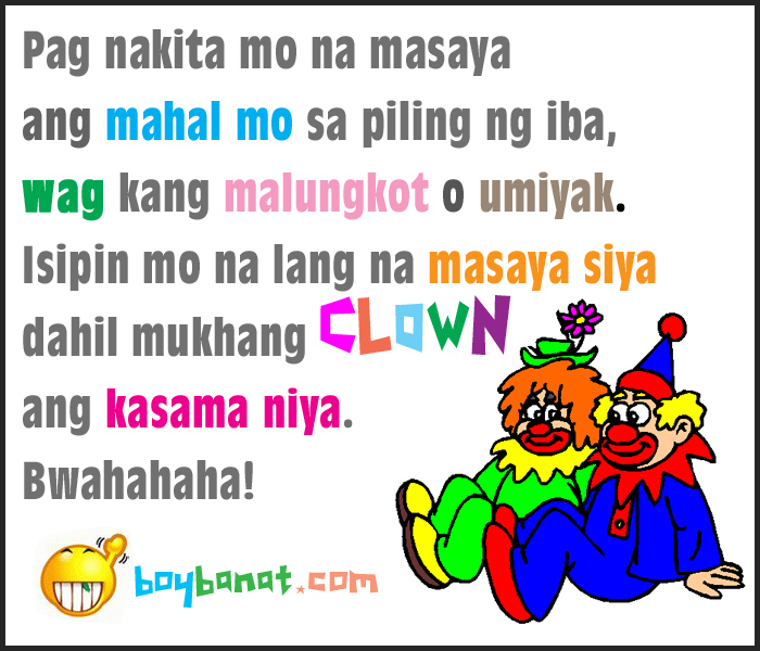 boy banat filipino quotes