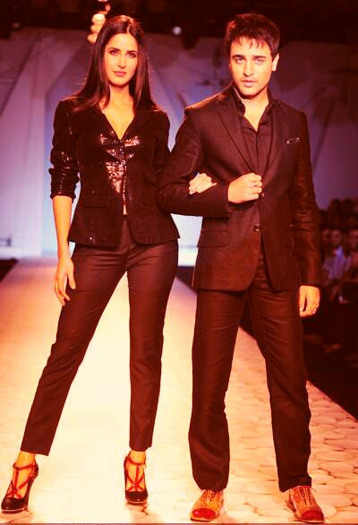 Katrina Kaif on Ramp with Imran Khan1 - Super Hot Katrina Kaif on Ramp with Imran Khan