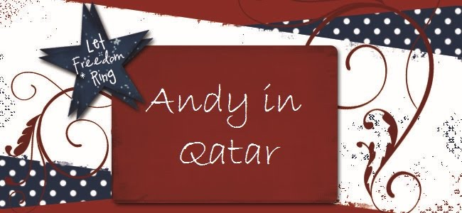 Andy in Qatar