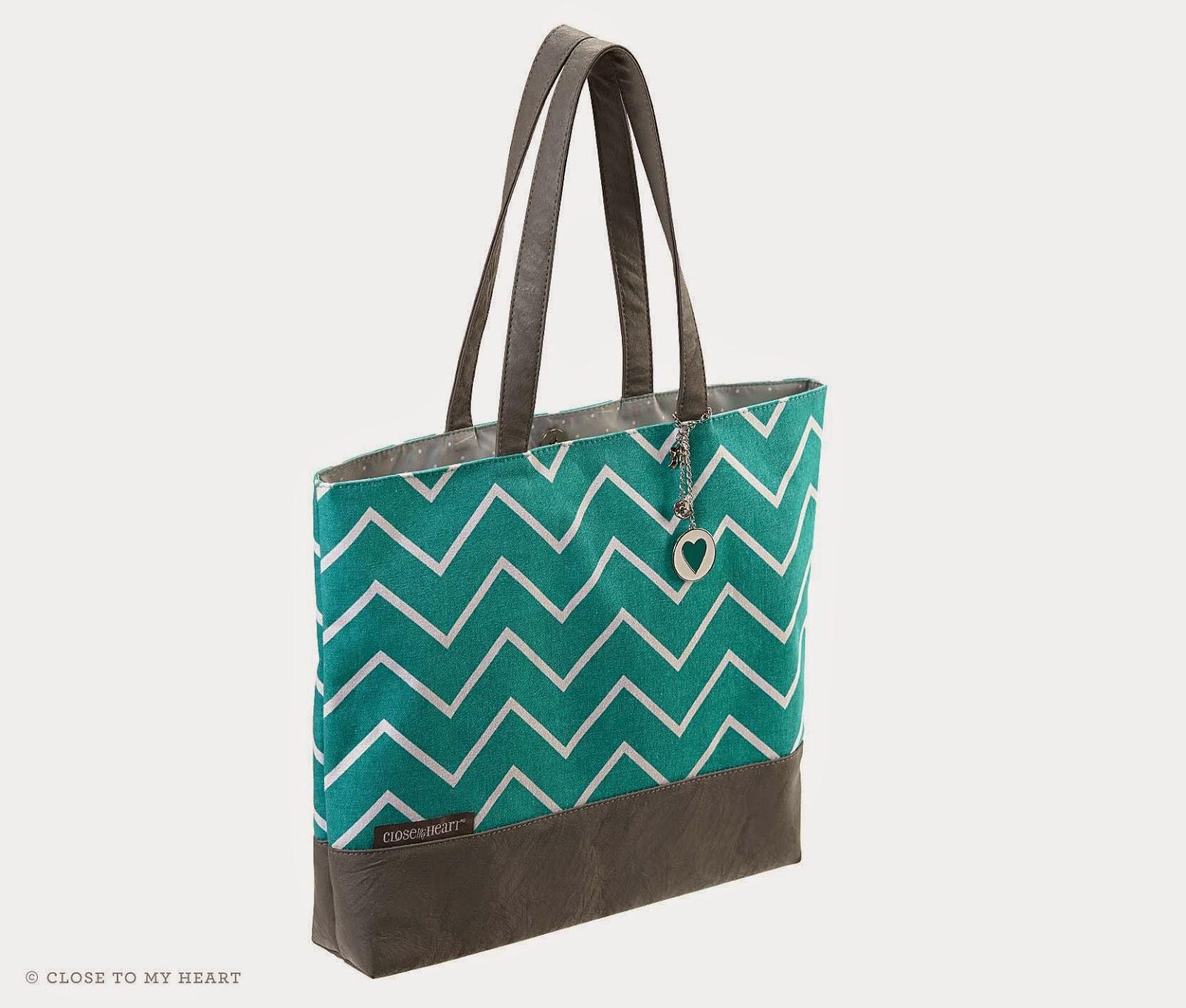 CTMH Shoulder Tote Bag