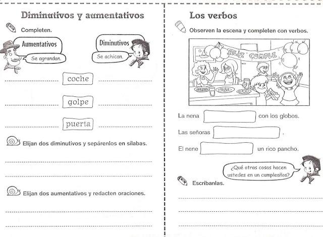 Fichas para segundo fotocopiables | ACTIVIDADES FOTOCOPIABLES PARA ...