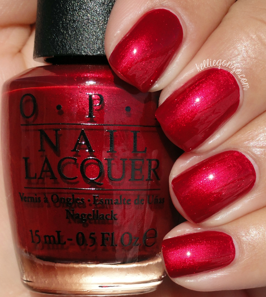 KellieGonzo: OPI Holiday 2015 Starlight Collection Swatches & Review