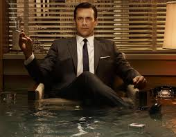 Don Draper, smoking, Mad Men