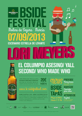 B-SIDE FESTIVAL 2013 cartel