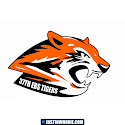 37th EBS Tigers Graphic Patch Design